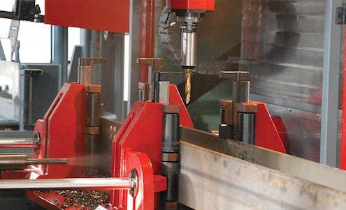 beam drilling 3 spindle